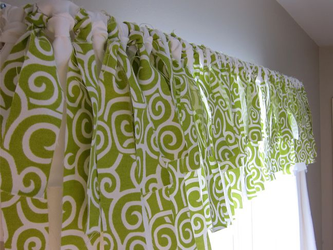 Diy Easy No Sew Window Valance (Pottery Barn Inspired Within Country Style Curtain Parts With White Daisy Lace Accent (View 24 of 50)