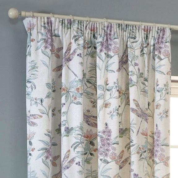 Dragonfly Window Curtains – Christinaarza (View 33 of 50)