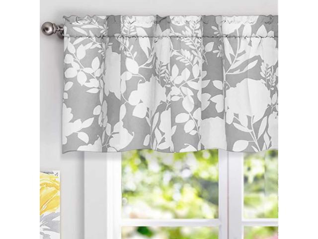 Inspiration about Driftaway Floral Delight Botanic Pattern Window Curtain For Floral Pattern Window Valances (#14 of 50)