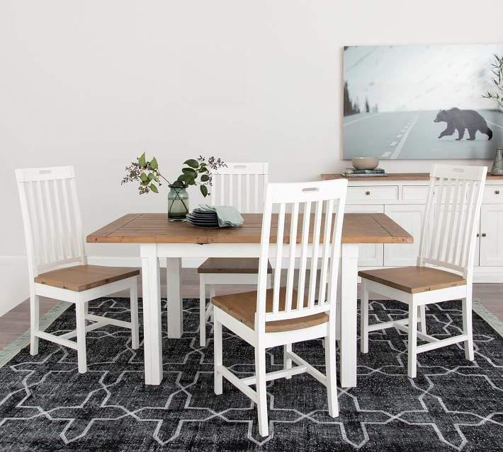 Driftwood White Hart Reclaimed Pedestal Extending Dining Tables For 2020 Reclaimed Dining Table – Shopstyle (View 6 of 30)
