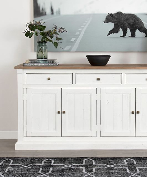 Driftwood White Hart Reclaimed Pedestal Extending Dining Tables For Current Repurposed Wood Buffet (View 16 of 30)