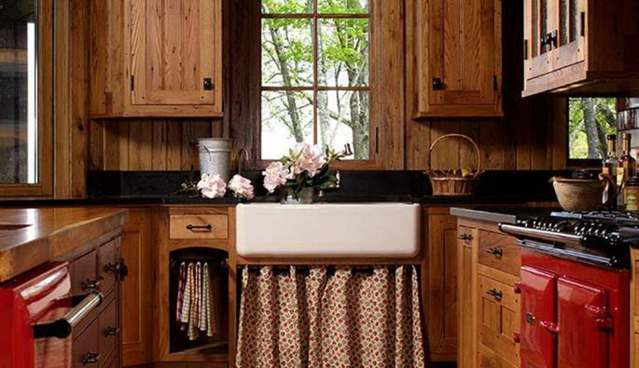 Drop Gorgeous Cabin Decor Kitchen Curtains Log Rustic Within Classic Kitchen Curtain Sets (View 21 of 50)
