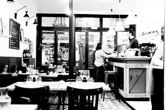 Edgar Bar Tables Throughout Latest Chez Edgar Oberkampf, Paris – 11Th Arr (#10 of 20)