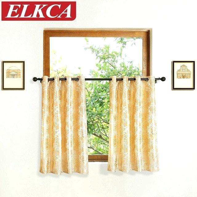 Elegant Curtains With Valance – Techpneu With Regard To Luxurious Kitchen Curtains Tiers, Shade Or Valances (#9 of 50)