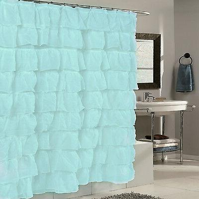 Elegant Shower Curtain | Shower Curtain Intended For Elegant Crushed Voile Ruffle Window Curtain Pieces (View 20 of 45)