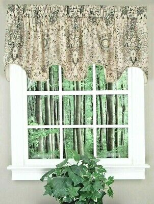 Ellis Curtain Jessica Sheer Tailored Tier Curtains, 5424 Regarding Tailored Valance And Tier Curtains (#13 of 50)