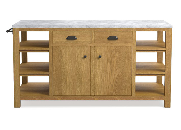 Elworth Kitchen Island Intended For 2019 Kitchen Islands On The Go (#6 of 20)