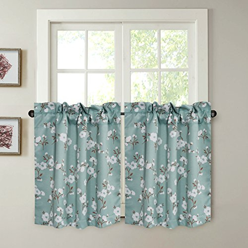Energy Saving Ultra Soft Casual Kitchen Curtains Rod Pocket With Regard To Kitchen Curtain Tiers (View 25 of 50)