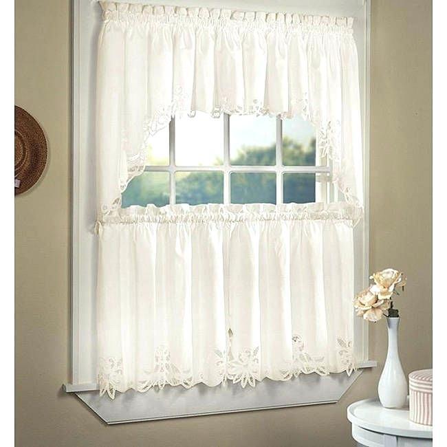 Exciting 5 Piece Kitchen Curtain Sets Kitchenaid Blender With Regard To Kitchen Window Tier Sets (#19 of 50)