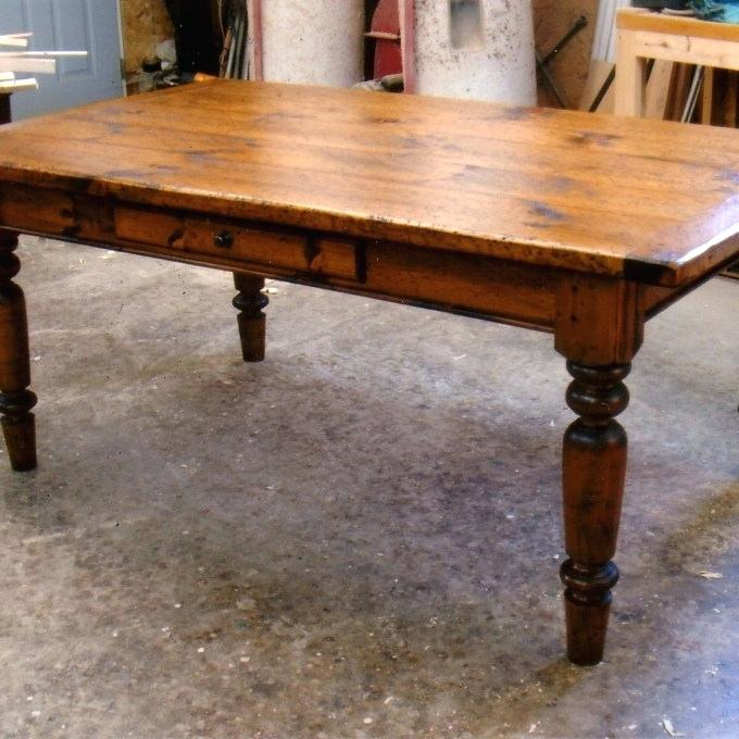 Expandable Farmhouse Table – Worldofseeds (#9 of 30)