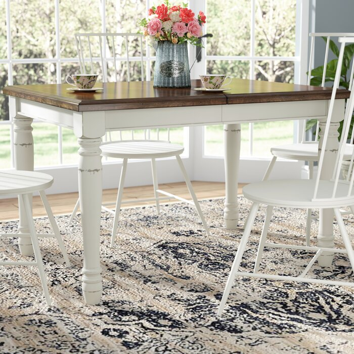 Extendable Dining Table Intended For Favorite Modern Farmhouse Extending Dining Tables (#11 of 30)