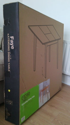 Extending Dining Table Homebase Faye Brand New In Box For Throughout 2020 Faye Extending Dining Tables (#5 of 20)
