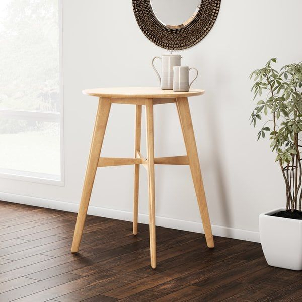 Famous Carson Counter Height Tables In Carson Carrington Lund Natural Finish Wood Bar Table In (View 11 of 20)