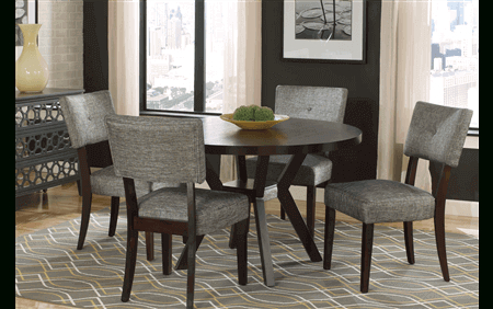 Famous Drake Round Dining Table For Rent (#15 of 30)