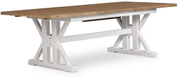 Famous Driftwood White Hart Reclaimed Pedestal Extending Dining Tables Inside Reclaimed Dining Table – Shopstyle (View 19 of 30)