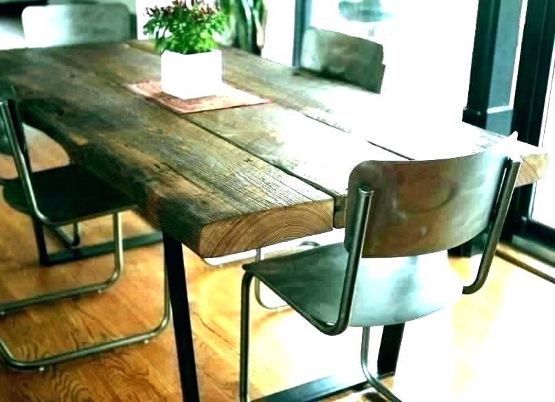 Famous Reclaimed Wood Bar Table – Hadenough (#4 of 30)