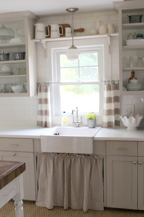 Farmhouse Kitchen Pin From Proverbs 31 Girl | Farmhouse With Farmhouse Kitchen Curtains (View 27 of 50)
