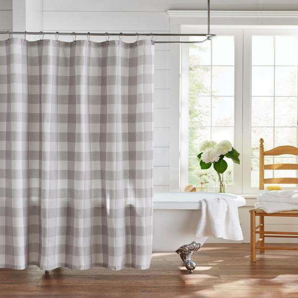 Farmhouse Living Buffalo Check 72 In. W X 72 In (View 12 of 30)