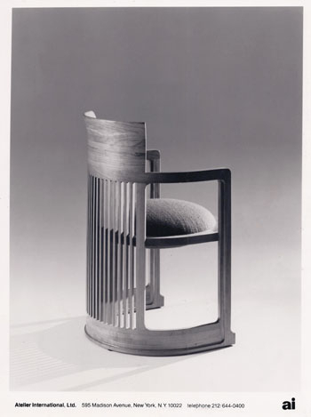 Fashionable Frank Lloyd Wright For Johnson Round Pedestal Dining Tables (View 17 of 20)