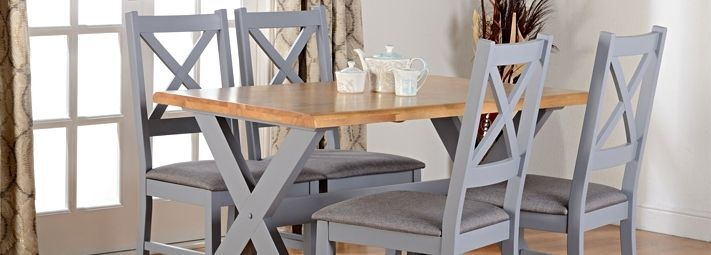 Fashionable Gray Wood Dining Chairs – Crazymba (#6 of 20)