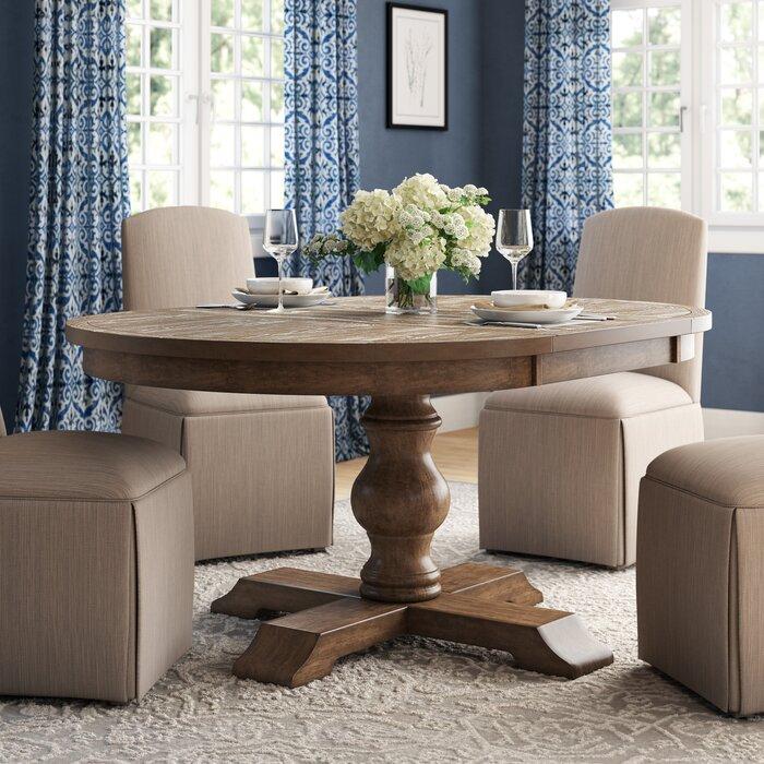 Fashionable Modern Farmhouse Extending Dining Tables For Fortunat Extendable Dining Table (#12 of 30)