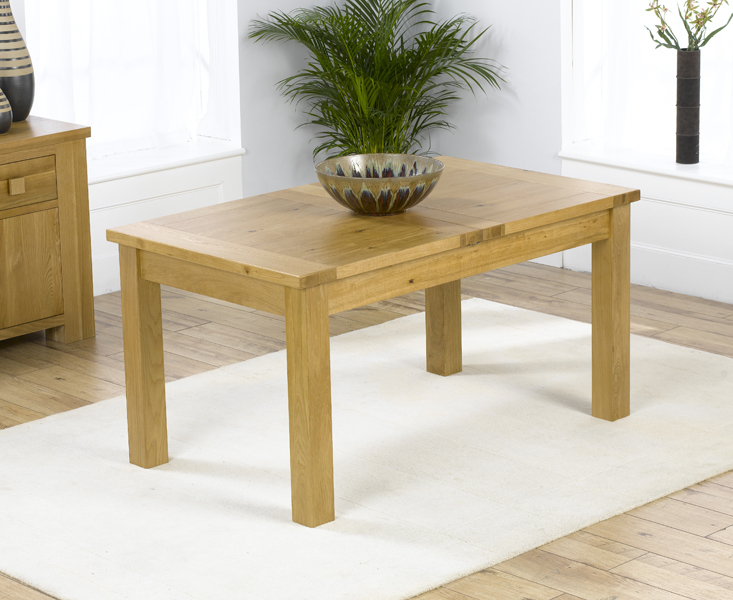 Fashionable Normandy 120Cm Oak Extending Dining Table Pertaining To Normandy Extending Dining Tables (#6 of 30)