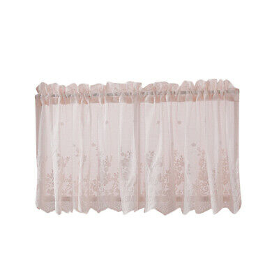 Fat Chef Cook Cafe Seafood Coffee Cup Kitchen Fabric Curtain With Coffee Drinks Embroidered Window Valances And Tiers (View 18 of 45)