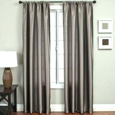 Faux Silk Curtains – Wayo With Floral Embroidered Faux Silk Kitchen Tiers (View 16 of 50)