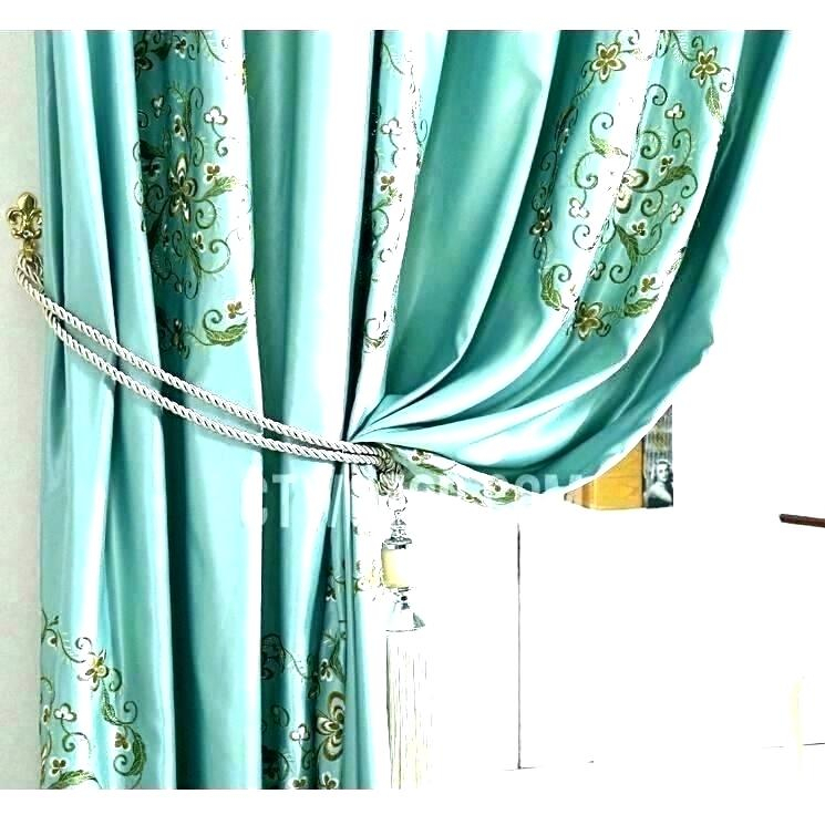 Faux Silk Drapes – Rocard Within Floral Embroidered Faux Silk Kitchen Tiers (View 20 of 50)