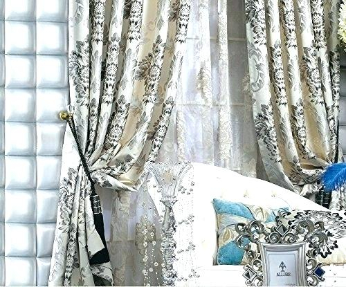 Faux Silk Eyelet Curtains – Bankspb Throughout Floral Embroidered Faux Silk Kitchen Tiers (View 21 of 50)