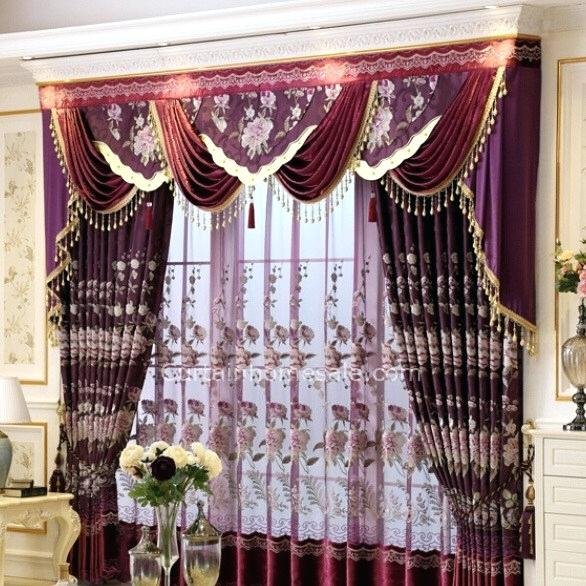 Faux Silk Valance – Joapr (View 29 of 50)