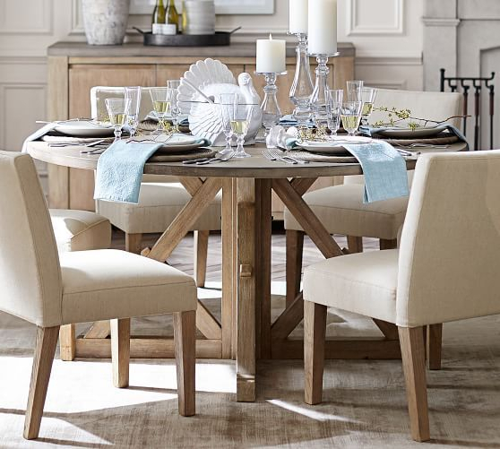 Popular Photo of Brooks Round Dining Tables
