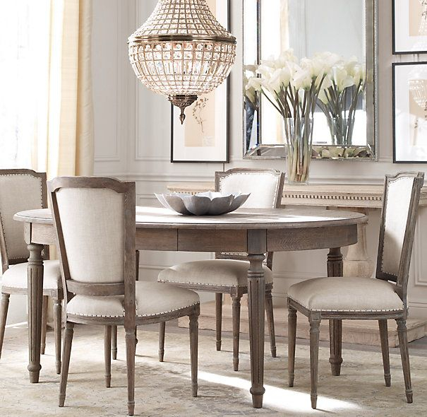 Favorite Ingred Extending Dining Tables For Rh Dining (View 7 of 20)
