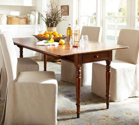Favorite Mahogany Shayne Drop Leaf Kitchen Tables Regarding Arlington Drop Leaf Dining Table – Crate And Barrel (View 17 of 20)
