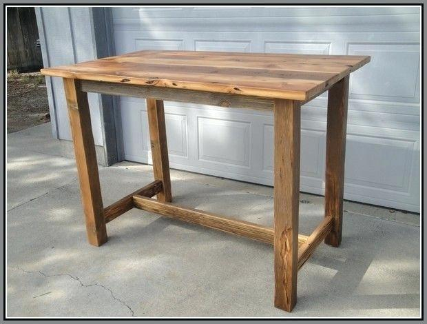 Favorite Solid Wood Bar Height Dining Table Legs Reclaimed Image Pertaining To Griffin Reclaimed Wood Bar Height Tables (#5 of 30)