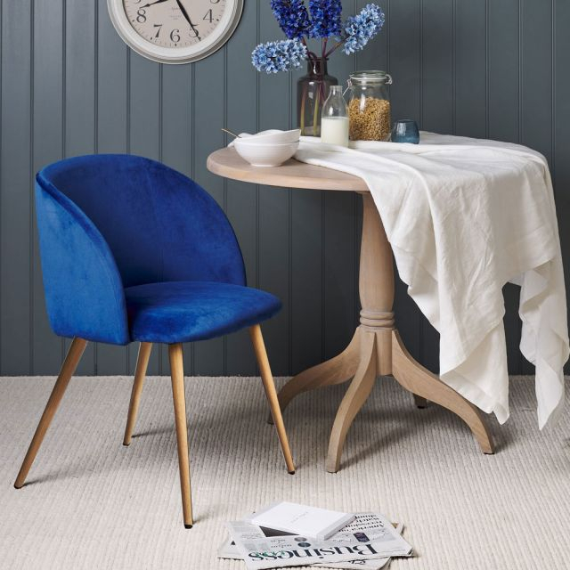 Faye Dining Tables Pertaining To 2019 Faye Dining Chair – Navy (#6 of 20)