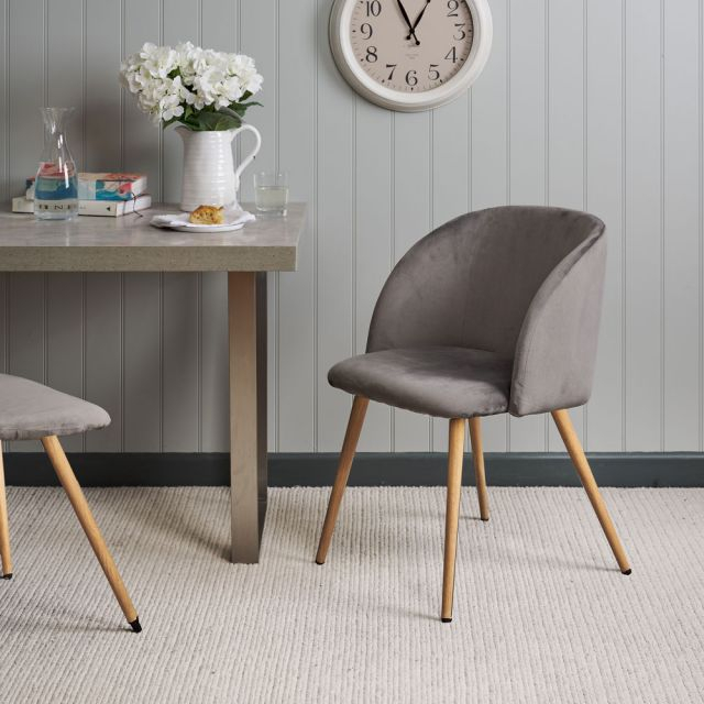 Faye Dining Tables Within Well Known Faye Dining Chair – Grey (#9 of 20)