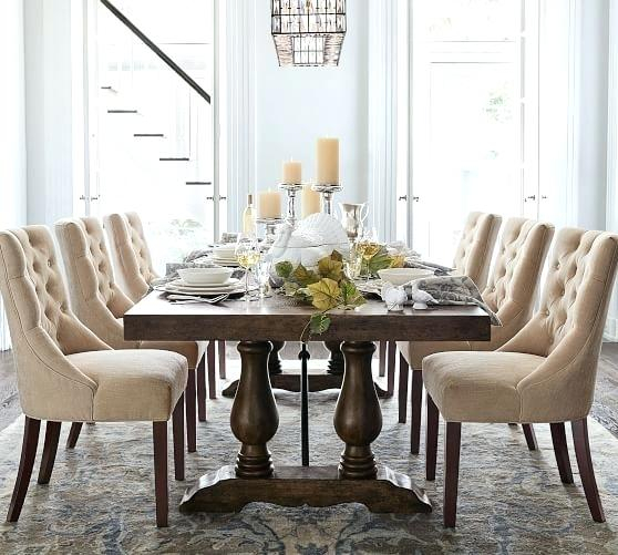 Faye Extending Dining Tables Pertaining To Trendy Potterybarn Dining Table – Teencuentro (#8 of 20)