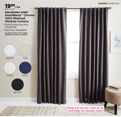 Find The Best Deals For Curtain Rods In Blue Hill, Me | Flipp Pertaining To Cottage Ivy Curtain Tiers (#23 of 49)