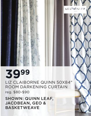 Find The Best Deals For Drapery In Lonedell, Mo | Flipp In Scroll Leaf 3 Piece Curtain Tier And Valance Sets (View 44 of 50)