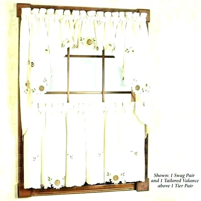 French Country Kitchen Curtains – Palmart (#18 of 30)
