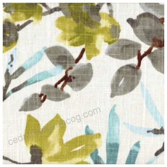 Gazebo Cloud Floral Scallop Valance Lined Cotton Inside Cotton Blend Ivy Floral Tier Curtain And Swag Sets (View 18 of 30)