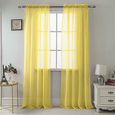 Geri Tailored Valance And 2 Sets Of Tiers Buttercup Yellow For Bermuda Ruffle Kitchen Curtain Tier Sets (View 19 of 50)