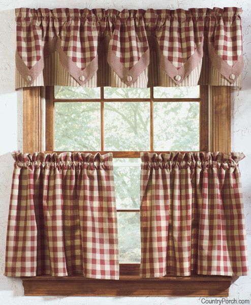 Getting Down And Rusty With Rustic Curtains For That Antique Pertaining To Rustic Kitchen Curtains (#9 of 30)