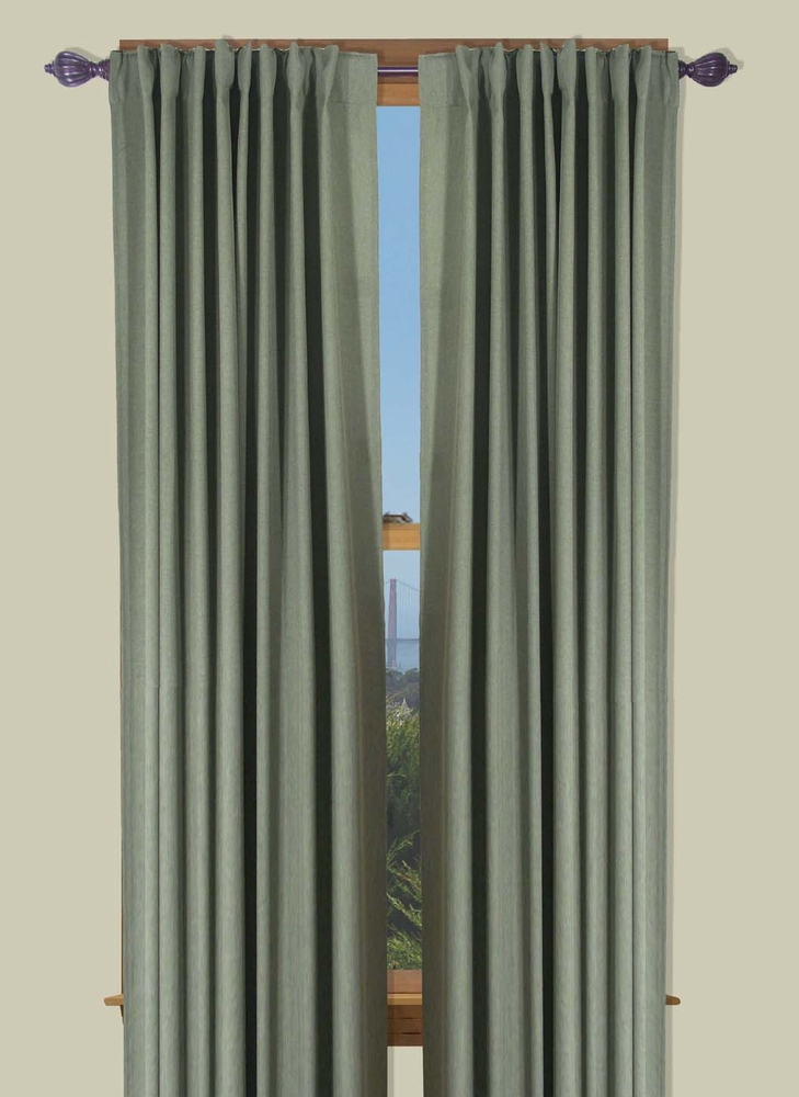 Glasgow – Two Way Rod Pocket Back Tab Curtain Panel Intended For Glasgow Curtain Tier Sets (View 14 of 30)