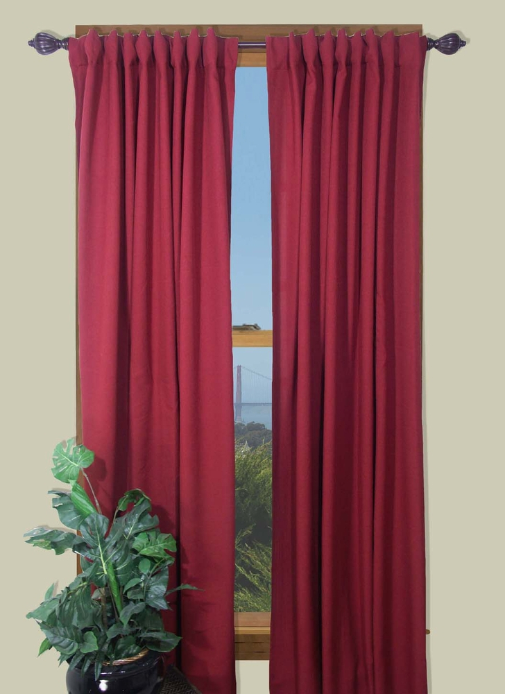 Glasgow – Two Way Rod Pocket Back Tab Curtain Panel With Regard To Glasgow Curtain Tier Sets (View 15 of 30)