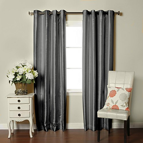 Golden Linens 3 Piece Printed Kitchen/ Cafe Curtain With Inside Faux Silk 3 Piece Kitchen Curtain Sets (View 23 of 44)