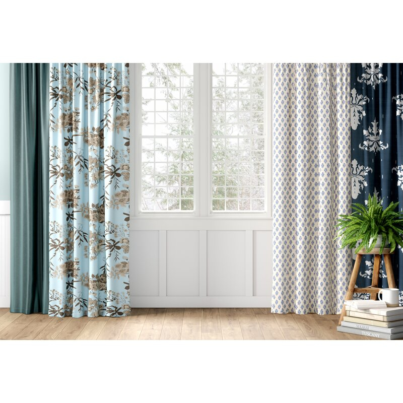 Goncalvo Striped Sheer Rod Pocket Single Curtain Panel With Linen Stripe Rod Pocket Sheer Kitchen Tier Sets (#17 of 46)