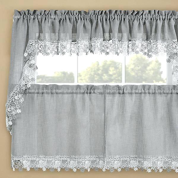 Gray Valance Curtain – Vonosta (View 18 of 50)