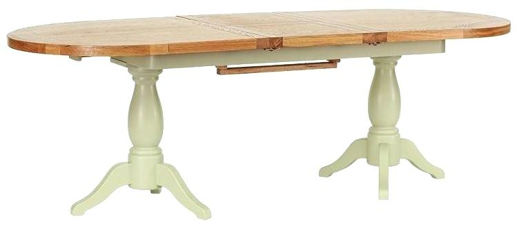 Gray Wash Banks Pedestal Extending Dining Tables Intended For Most Recently Released Round Extending Pedestal Dining Table – Dontdreamjustdoit (#8 of 20)